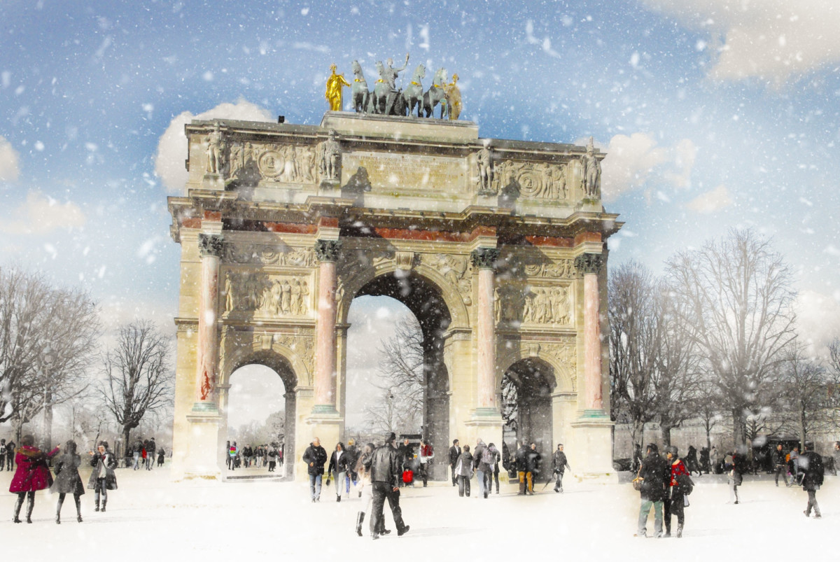 Winter in Paris © French Moments