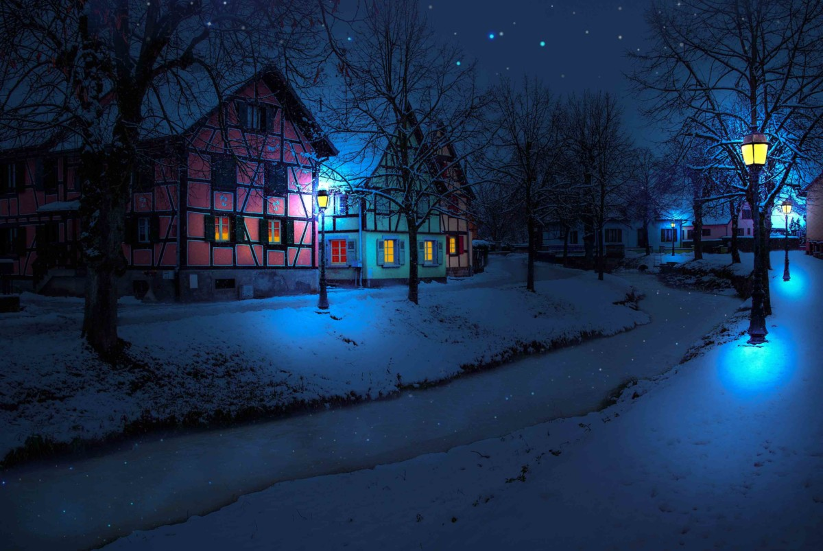 Winter in Alsace - Hirsingue © French Moments