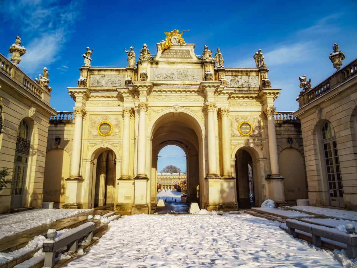 Triumphal arch of Nancy © French Moments