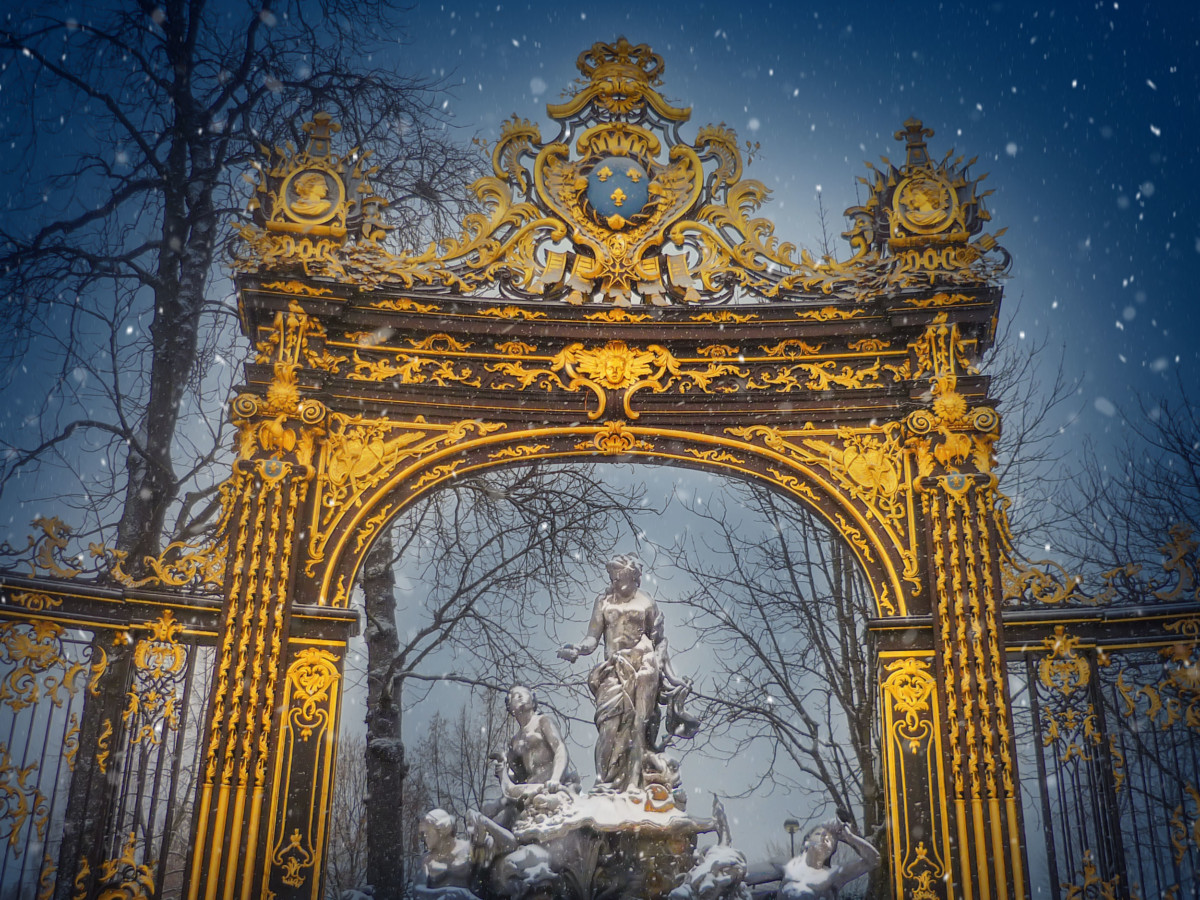 A French Winter Wonderland: Nancy © French Moments