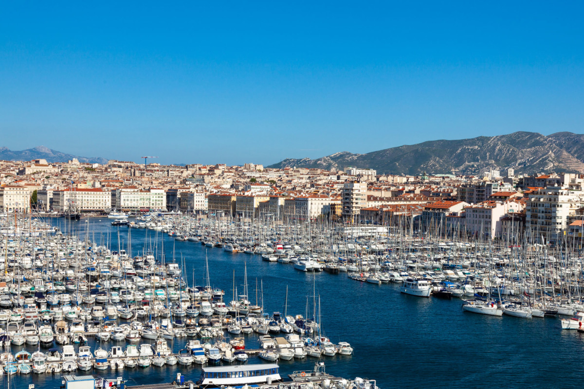Largest cities of France - Marseille QXE325V by Sam741002 via Envato Elements
