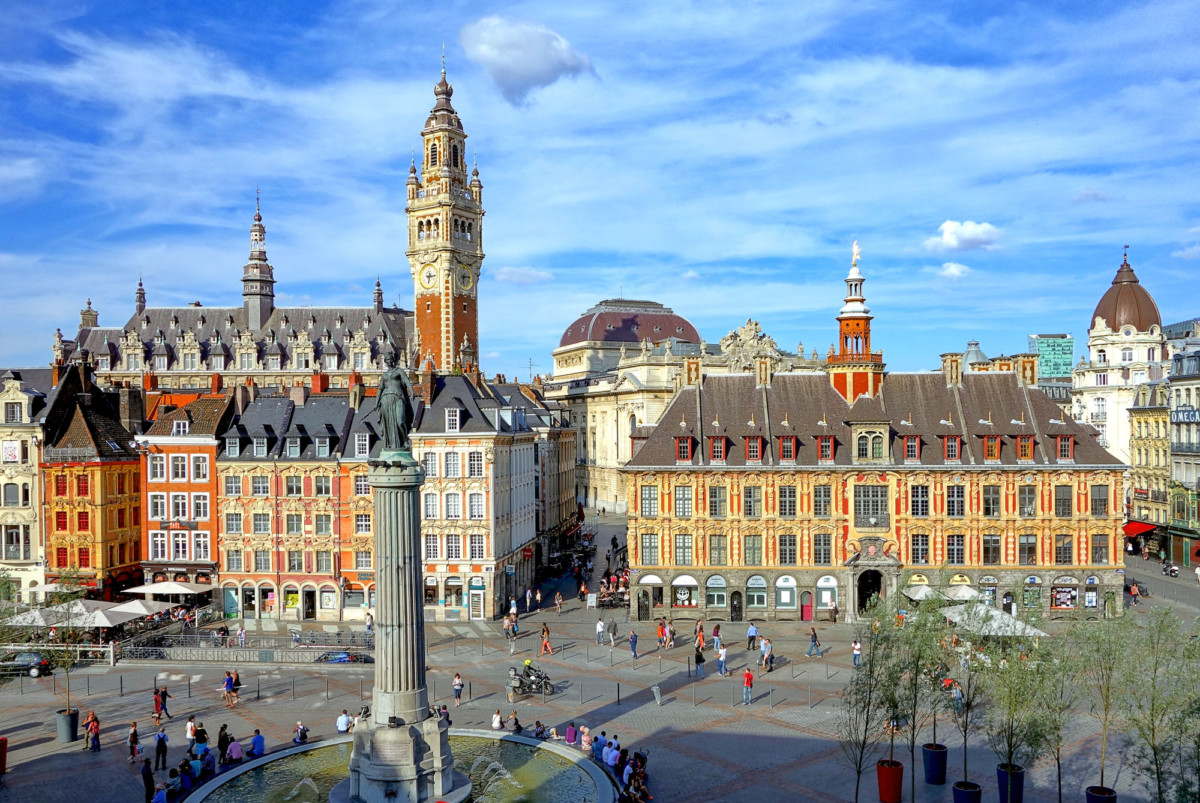 Lille © Velvet - licence [CC BY-SA 3.0] from Wikimedia Commons