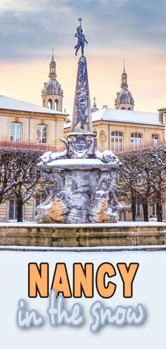 Nancy in the snow © French Moments