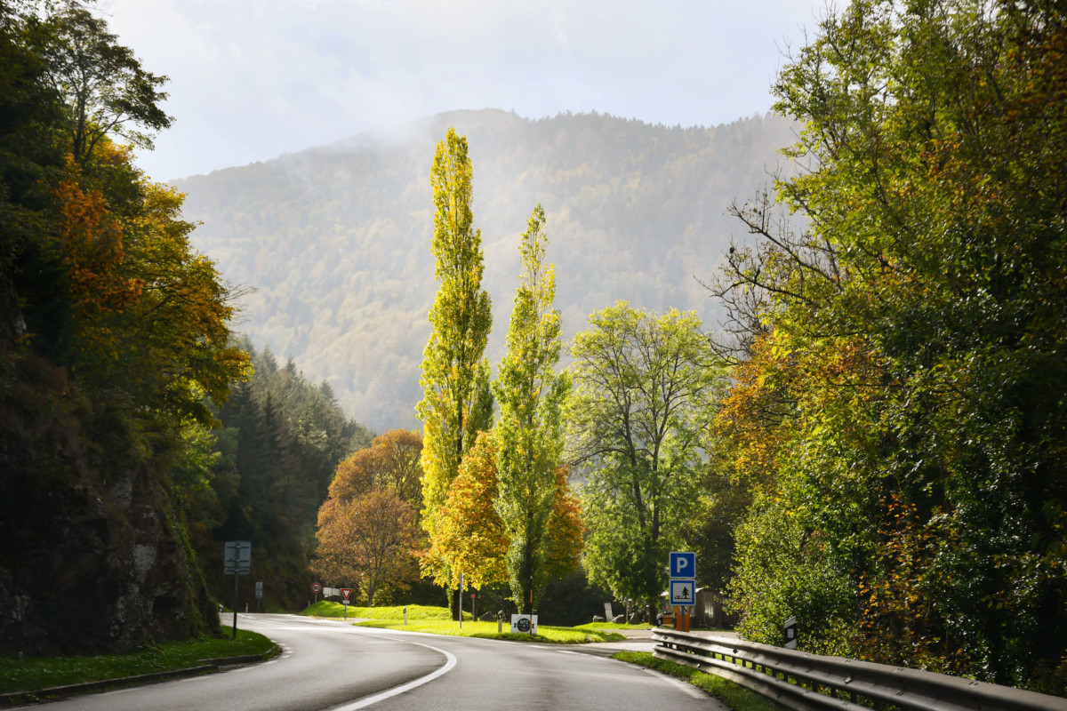 Arrival at the Col de Bussang from Alsace © French Moments