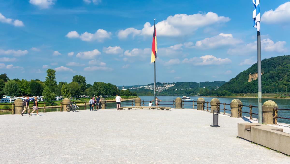 Deutsches Eck in Koblenz © Lightboxx via Twenty20