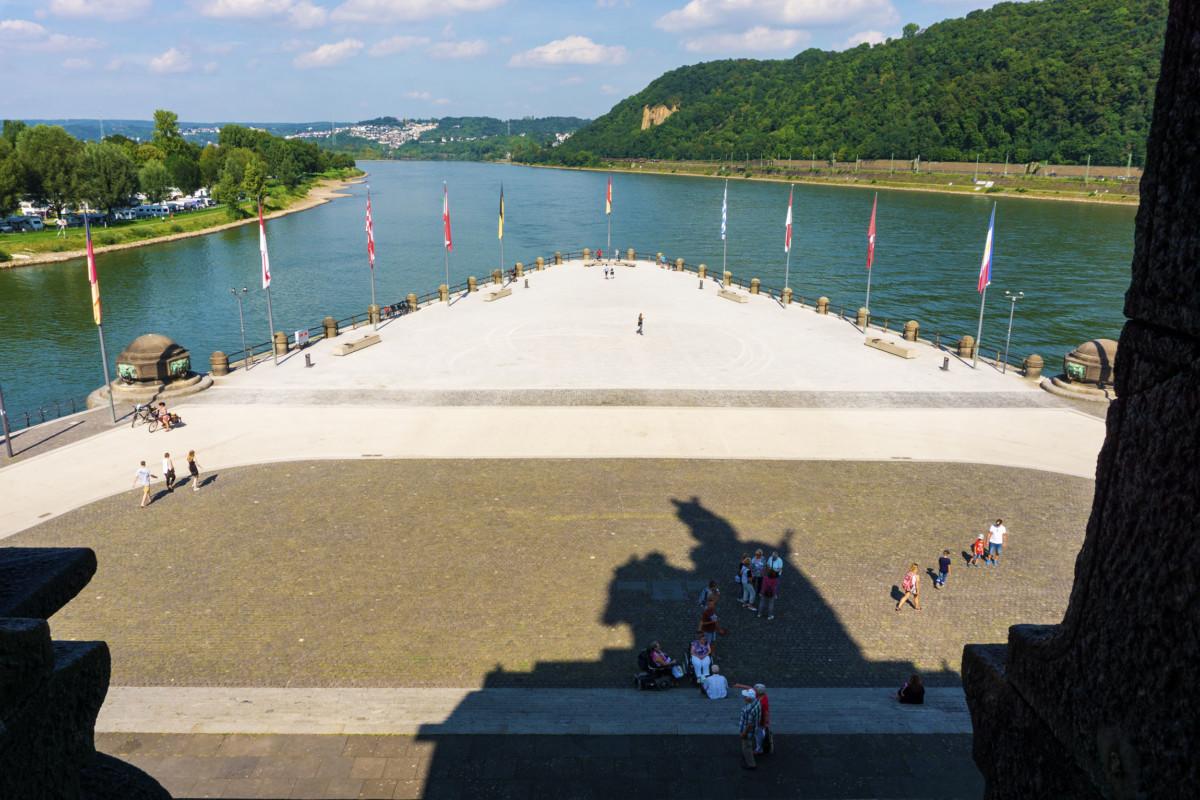 Deutsche Eck in Koblenz © Lightboxx via Twenty20