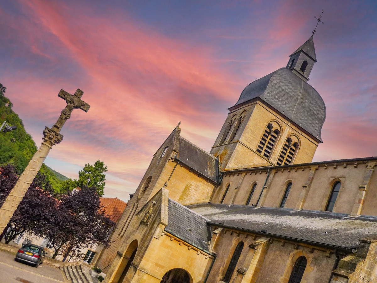 Moselle Valley - Gorze church © French Moments