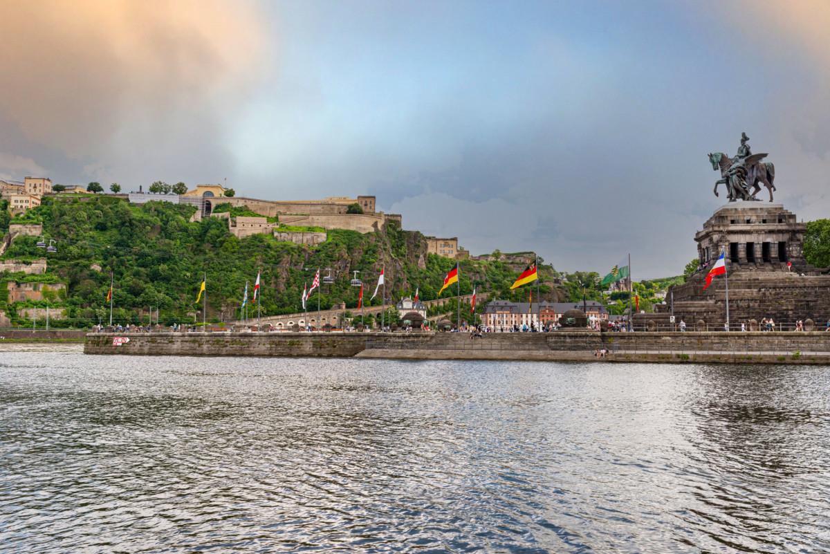 The Moselle in Koblenz © kinek00 via Twenty20