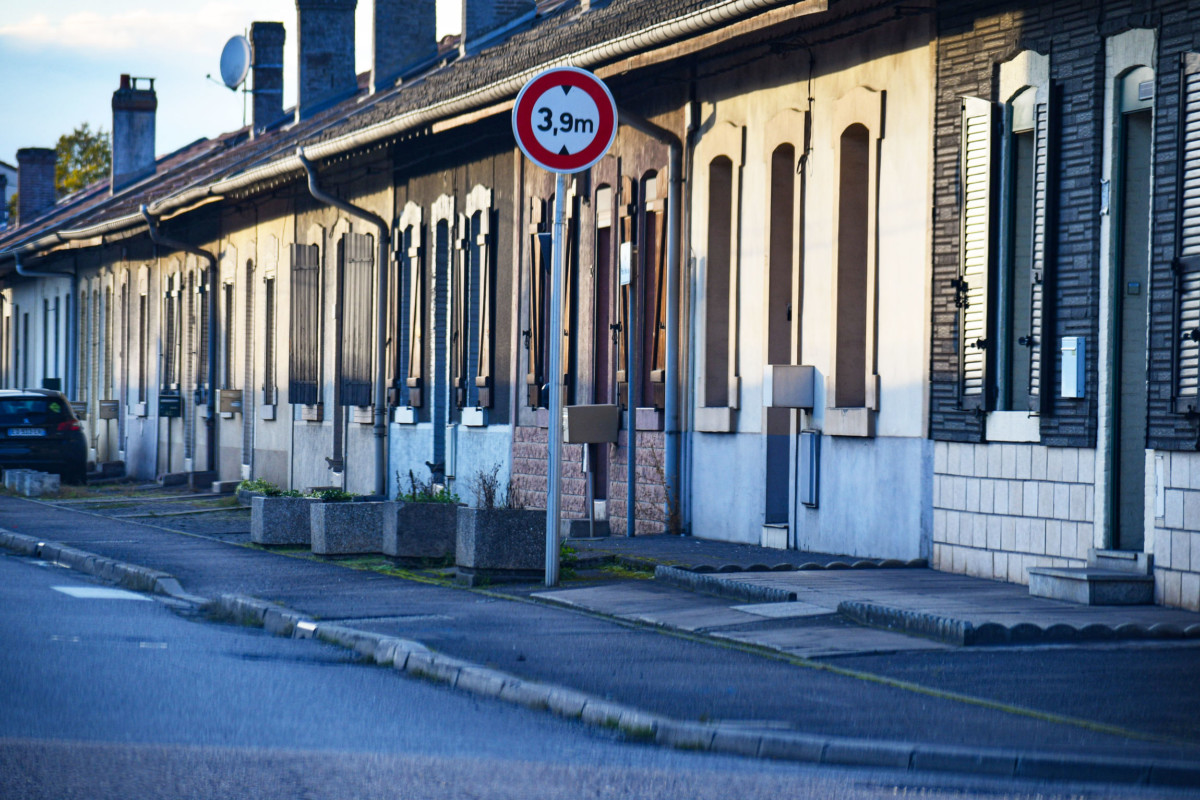 The 'Cités' of Messein in Neuves-Maisons © French Moments