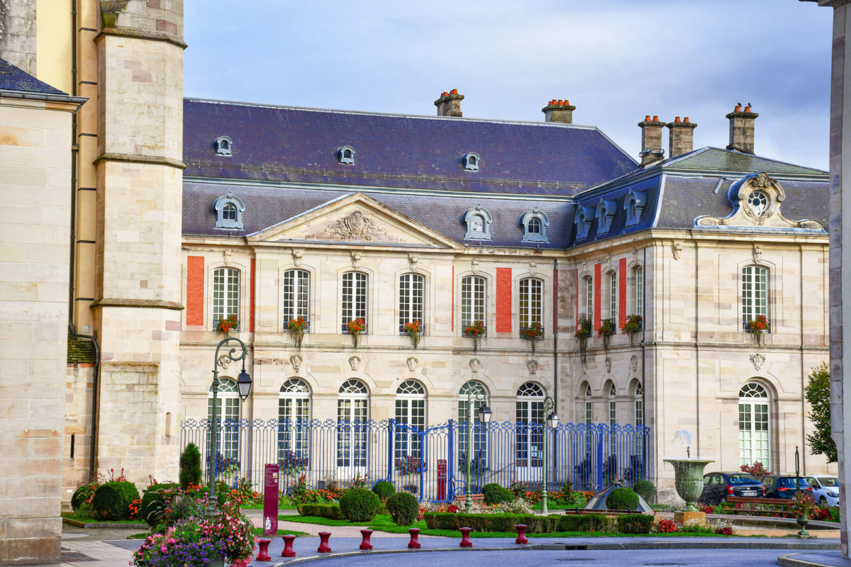 The former abbot's palace of Remiremont © French Moments