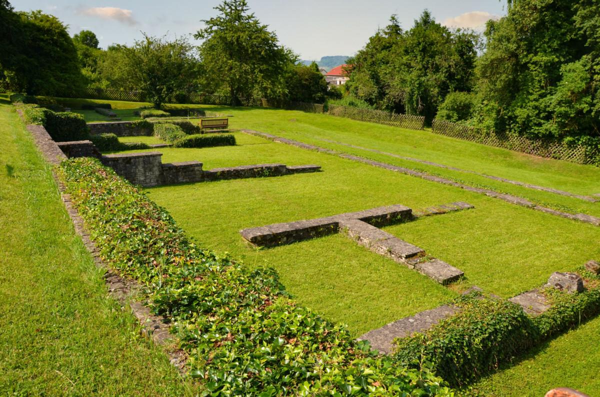 Ruins of the Roman Villa of Nennig © Carole Raddato - license [CC BY-SA 2.0] from Wikimedia Commons