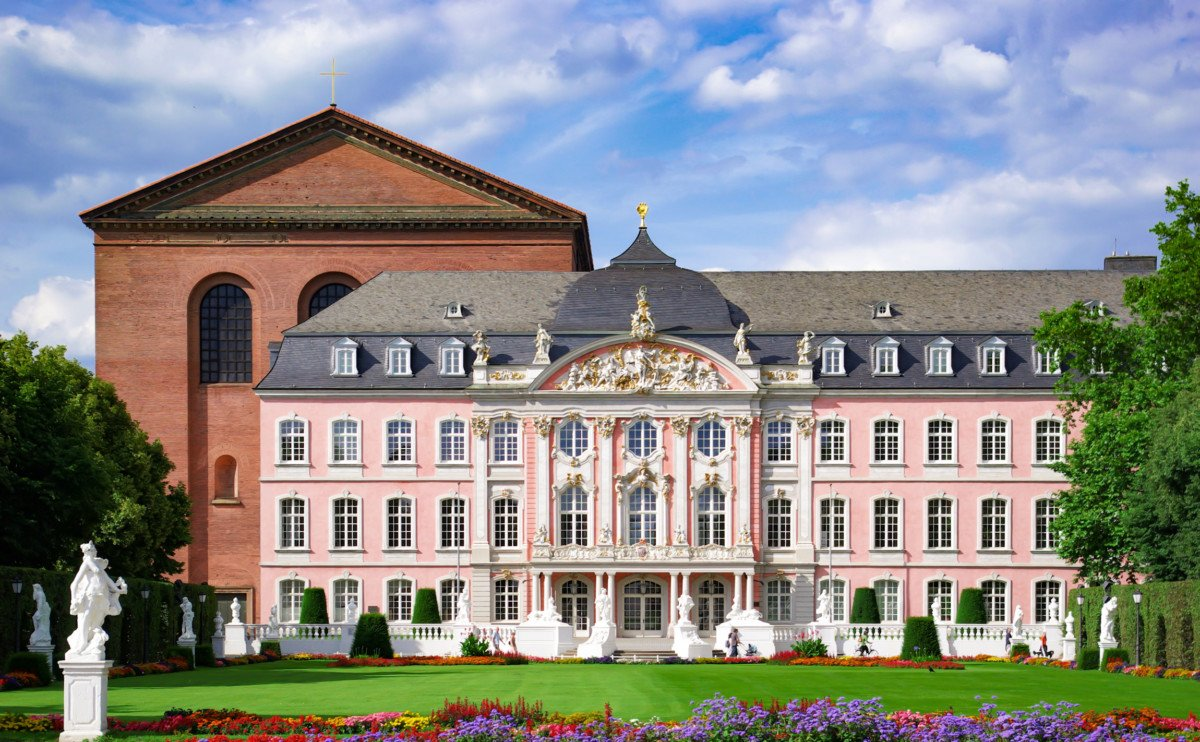 The Prince's Palace in Trier. Photo: Berthold Werner [Public Domain]
