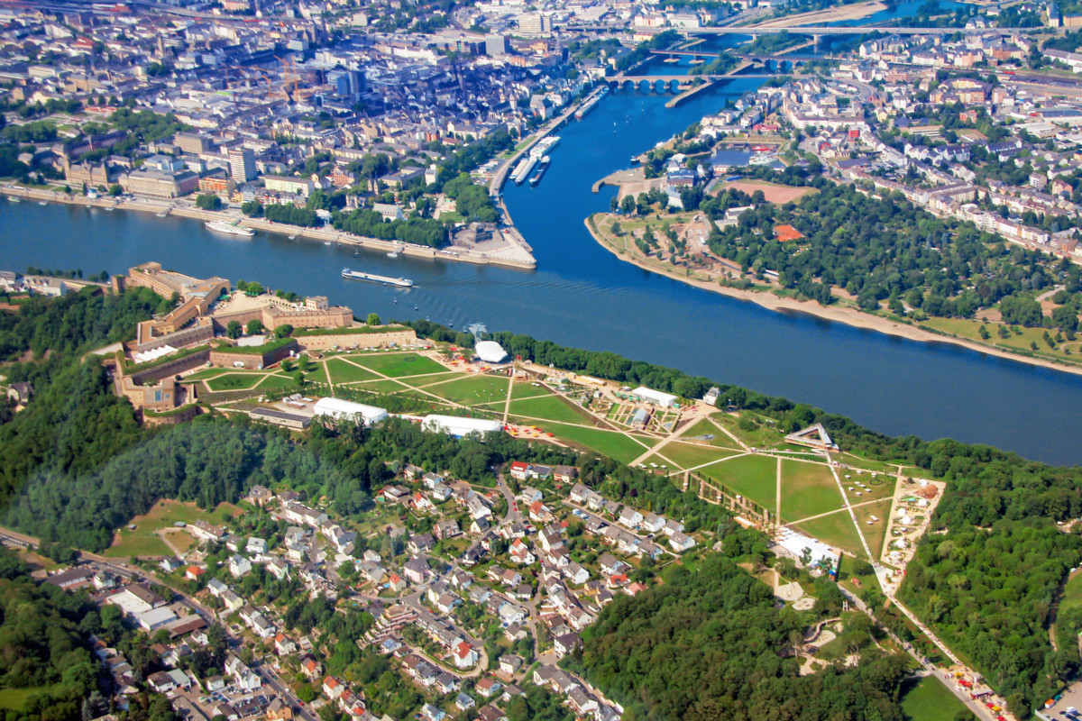 Moselle Valley - Koblenz © Holger Weinandt - licence [CC BY-SA 3.0 de] from Wikimedia Commons