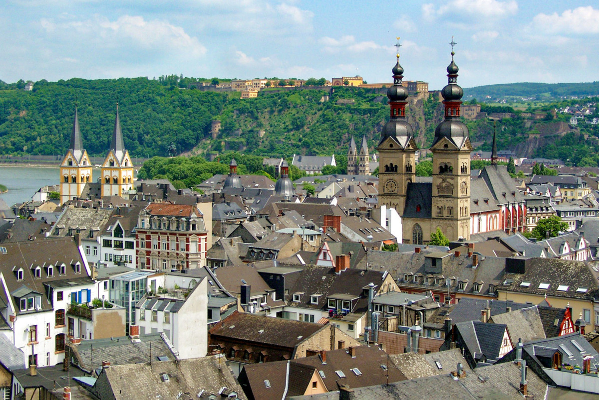 Koblenz Old Town © Holger Weinandt - license [CC BY-SA 3.0] from Wikimedia Commons