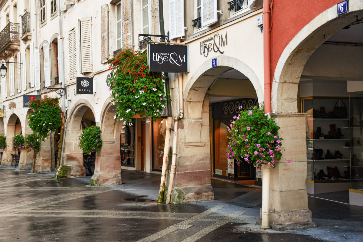 The arcades of Remiremont © French Moments