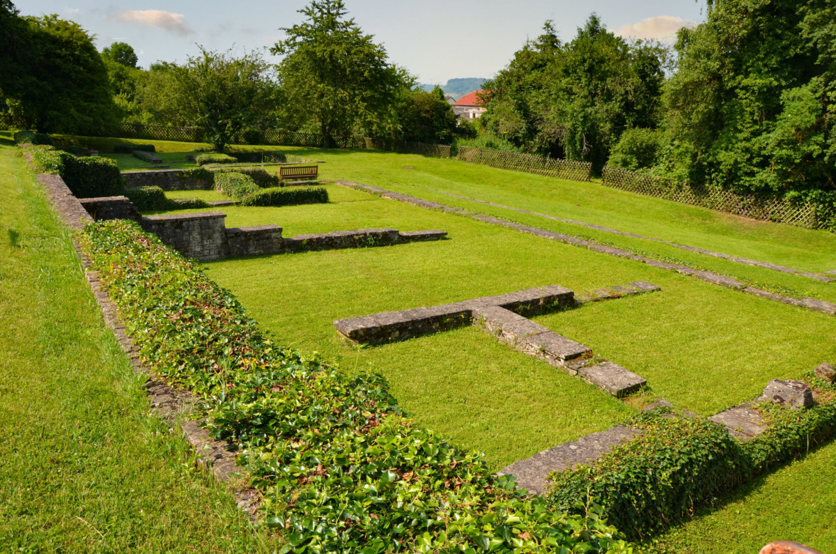 Ruins of the Roman Villa of Nennig © Carole Raddato - license [CC BY-SA 2.0] from Wikimedia Commons