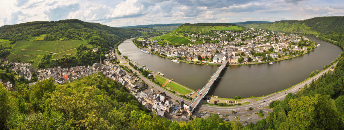 Moselle Valley: Traben-Trarbach © Steffen Schmitz - license [CC BY-SA 3.0 de] from Wikimedia Commons