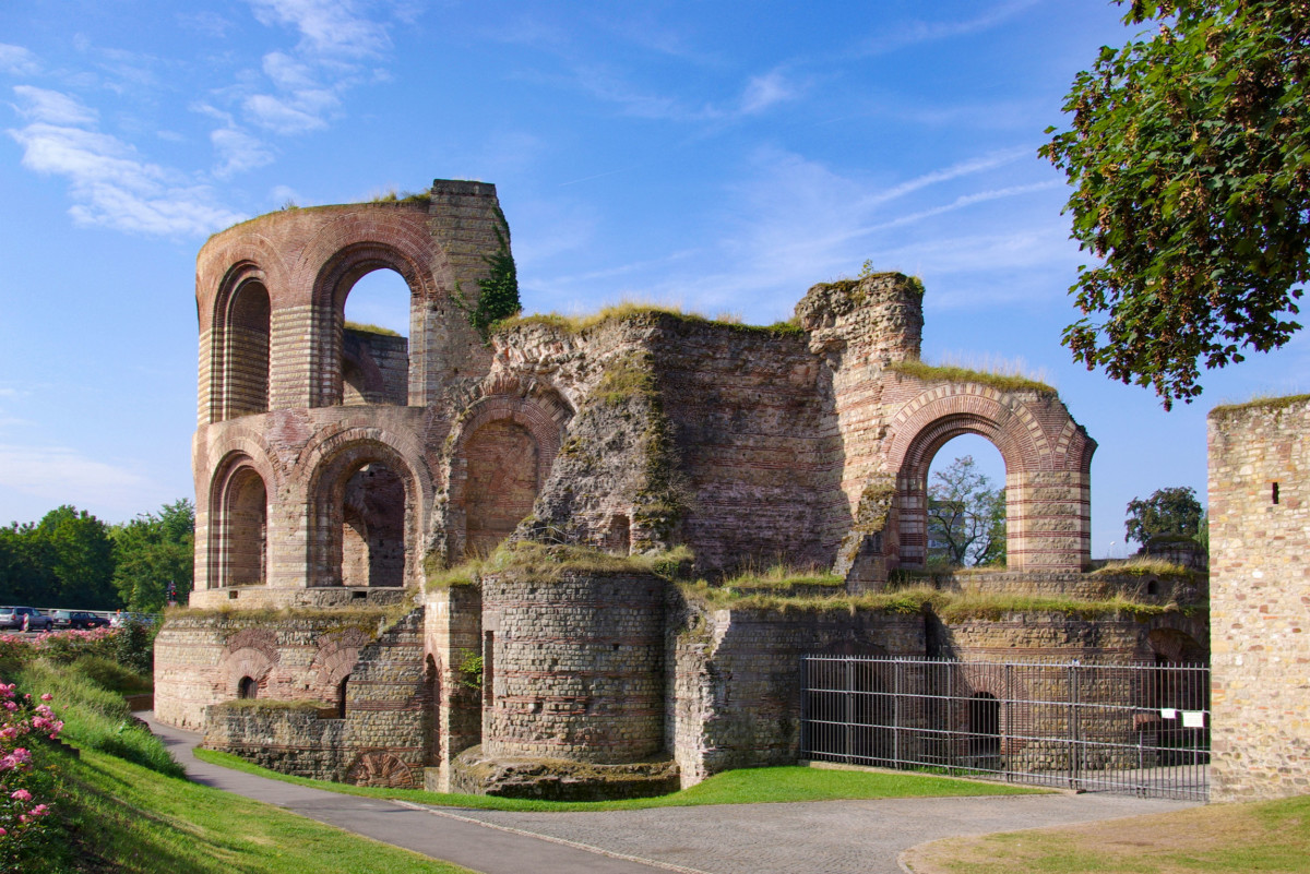 The Imperial Baths of Trier © Berthold Werner - license [CC BY-SA 3.0] from Wikimedia Commons