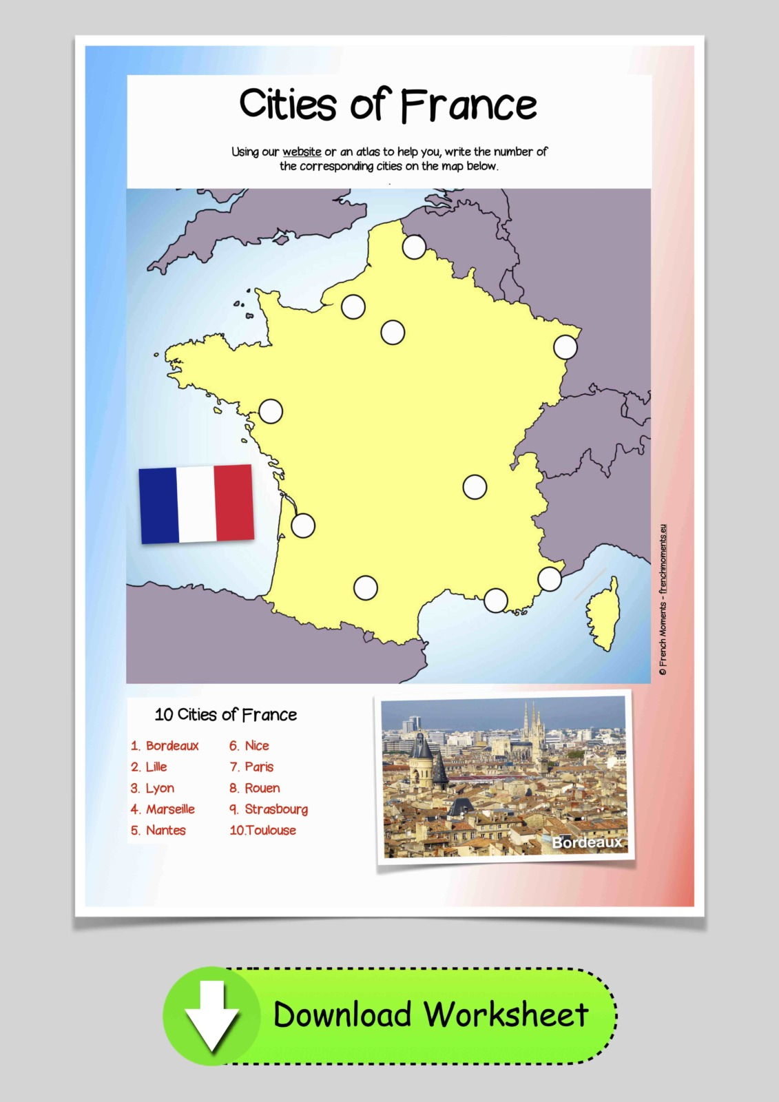 Cities of France © French Moments