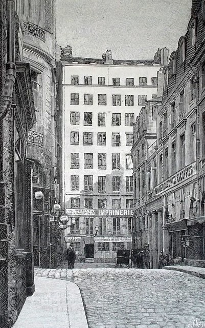 48 rue de Valois, Paris in the 19th century