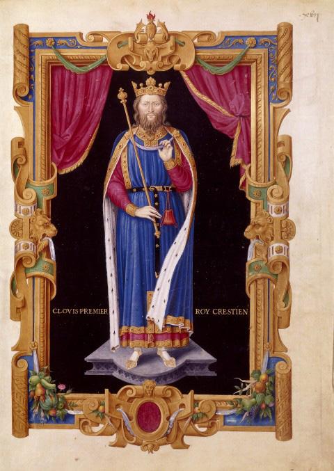 Clovis in Recueil des rois de France de Jean du Tillet, ca. 1550