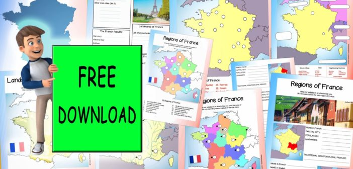 Geography of France Worksheets