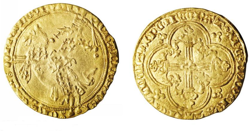 How France got its name - First Franc © Philippe pescatore licence [CC BY 1.0] from Wikimedia Commons