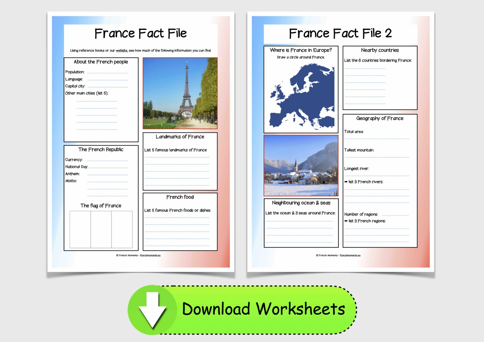 France Fact Files © French Moments