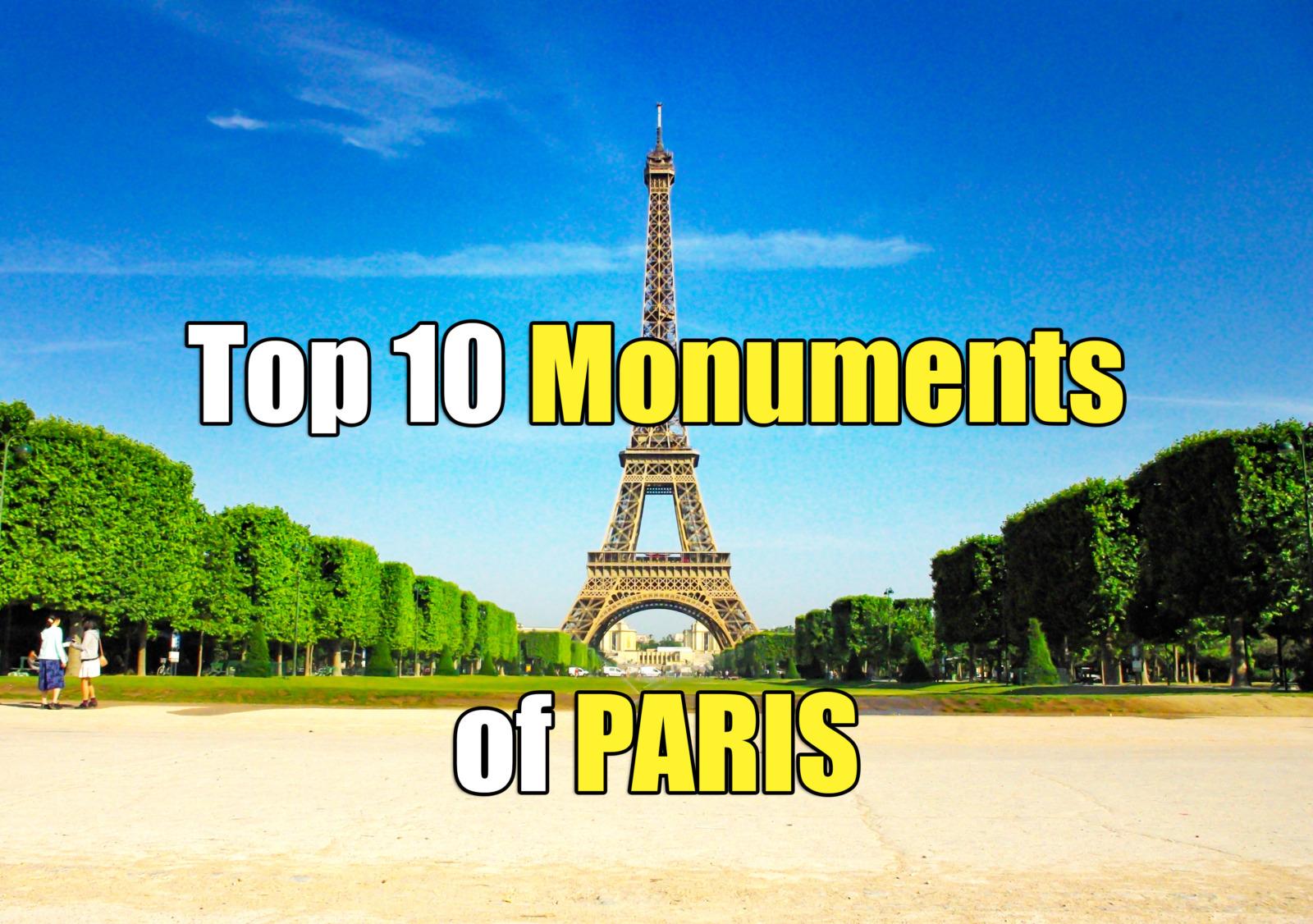 paris monuments