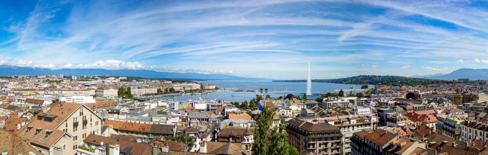 Genève. Photo by Christoph Rohner [Public Domain]
