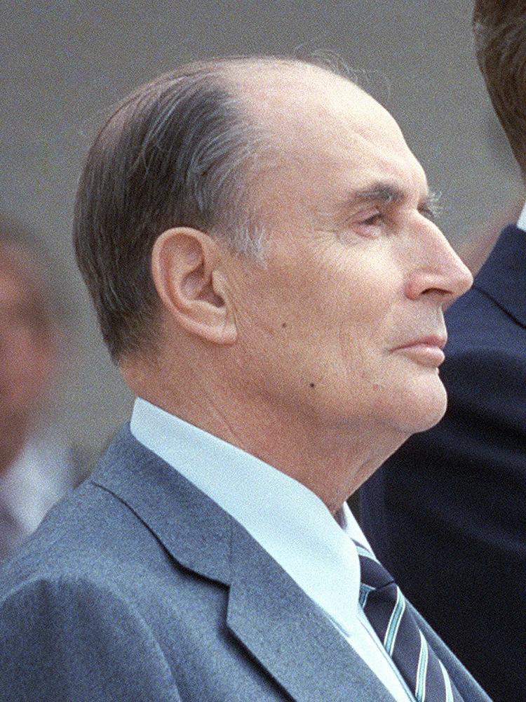 François Mitterrand [Public Domain]