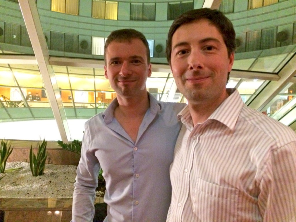 Pierre and Olivier Roland