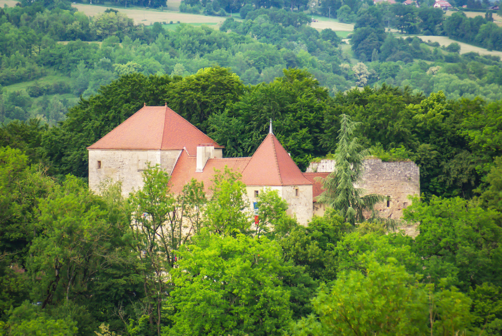 Around Annecy - castle of Sallenôves © French Moments
