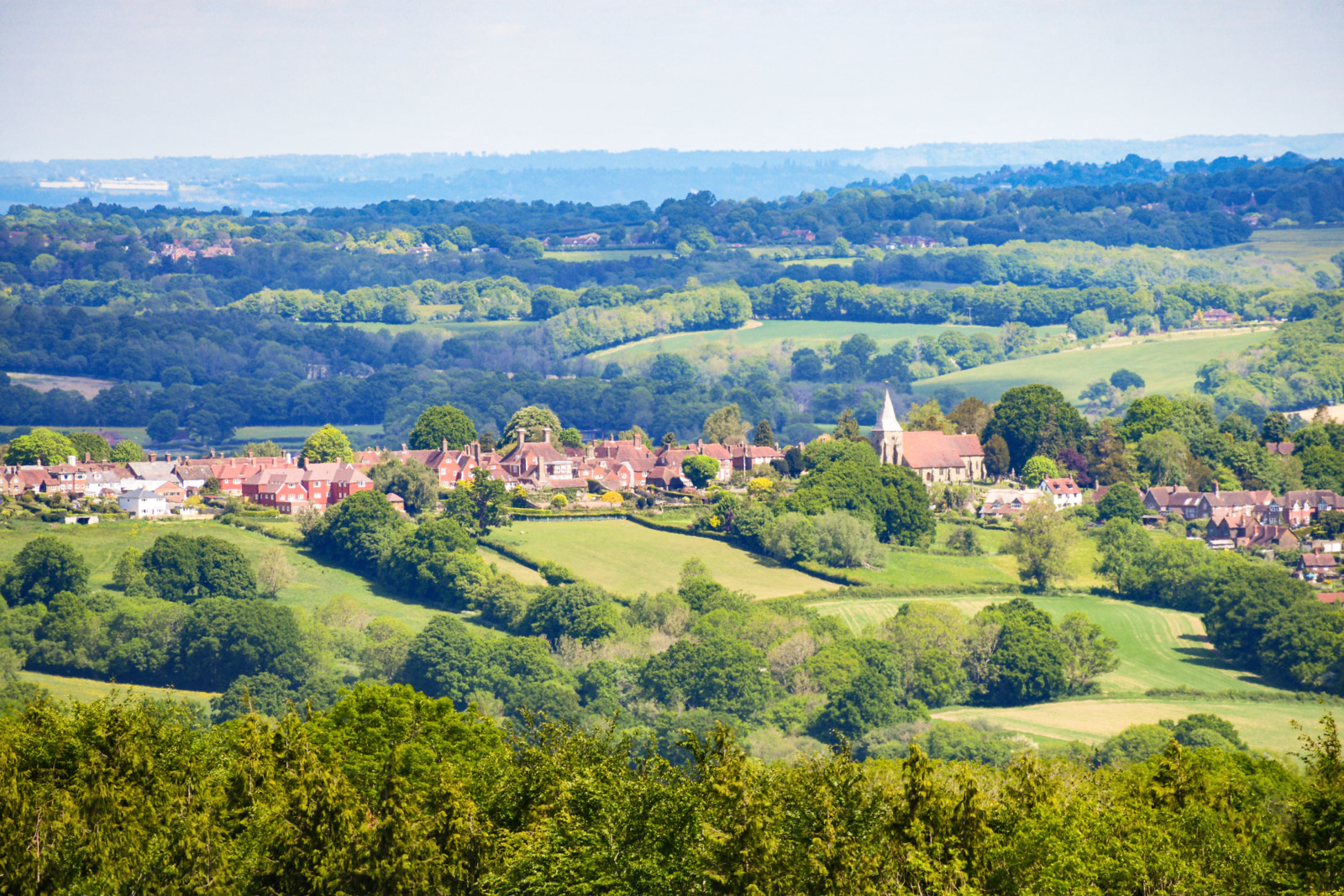 The English countryside near Burwash © French Moments
