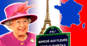 Visits of Queen Elizabeth II in France