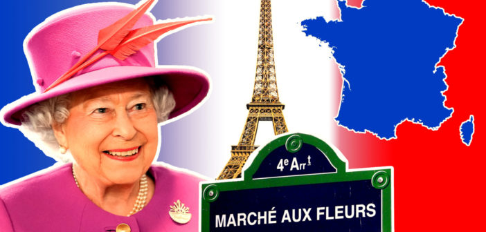 Queen Elizabeth II in France: What places did she visit?