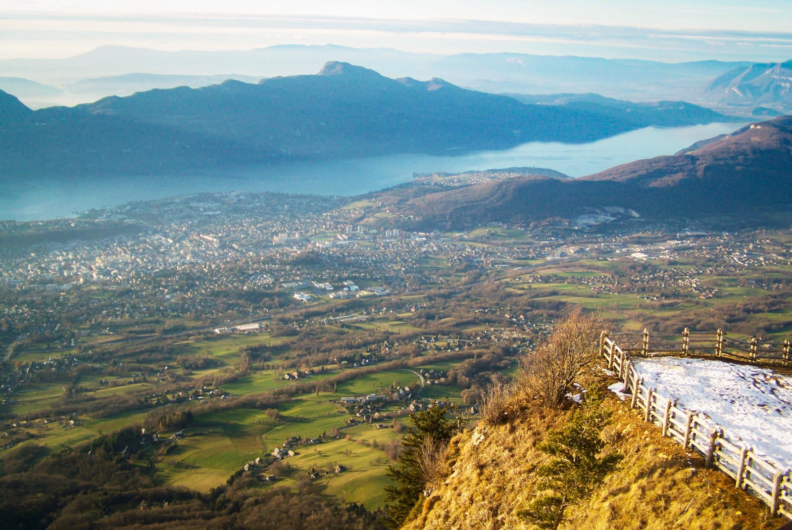 Around Annecy - The view from the Revard © French Moments
