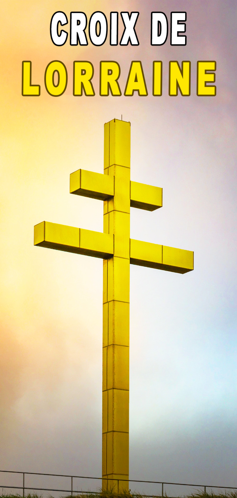 Cross of Lorraine Pinterest © French Moments