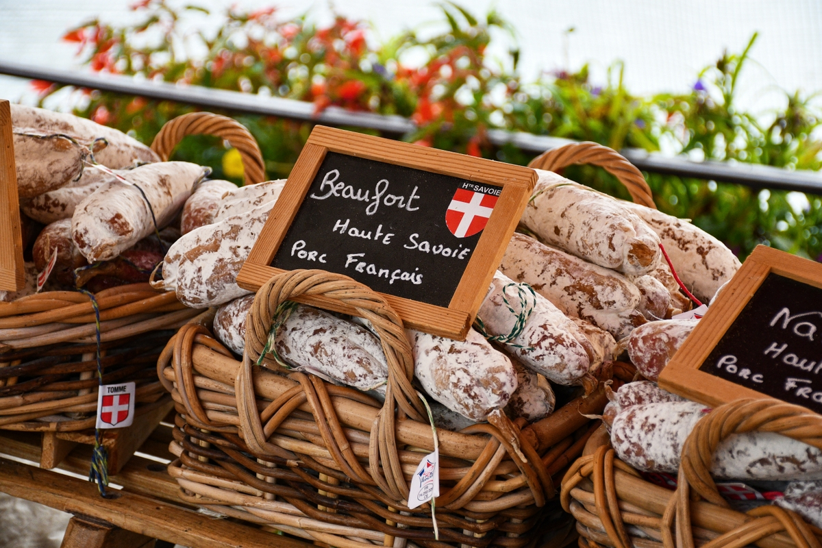 Saucissons from Savoy © French Moments