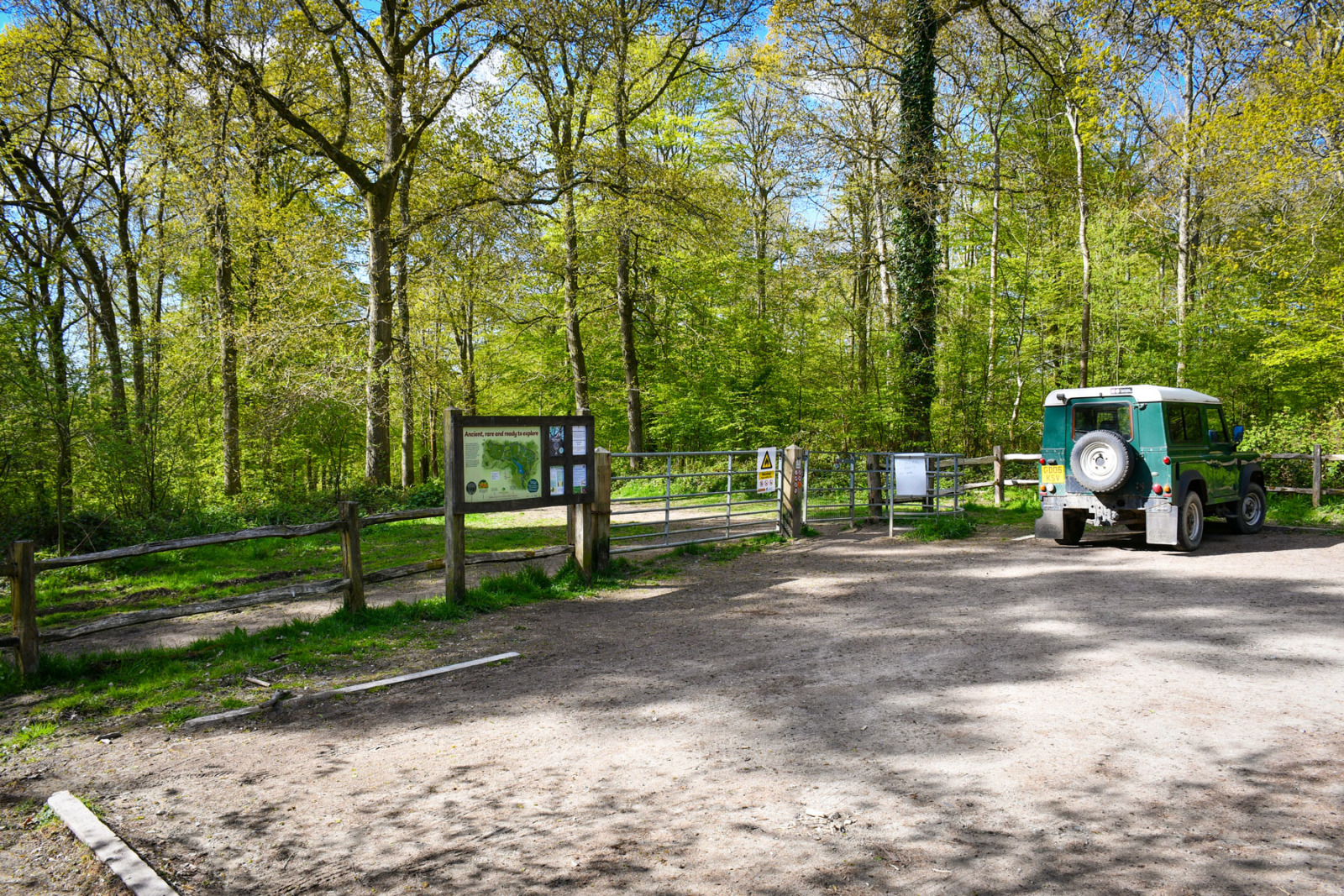 Brede High Woods Car park © French Moments