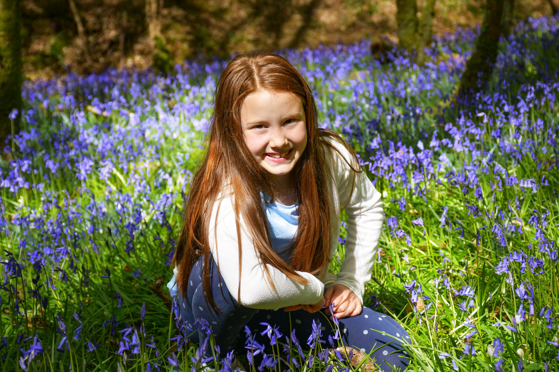 Aimée in Brede High Woods © French Moments