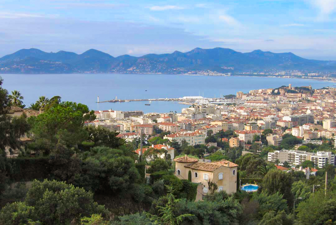 French Riviera - Cannes © Gilbert Bochenek - licence [CC BY-SA 3.0] from Wikimedia Commons