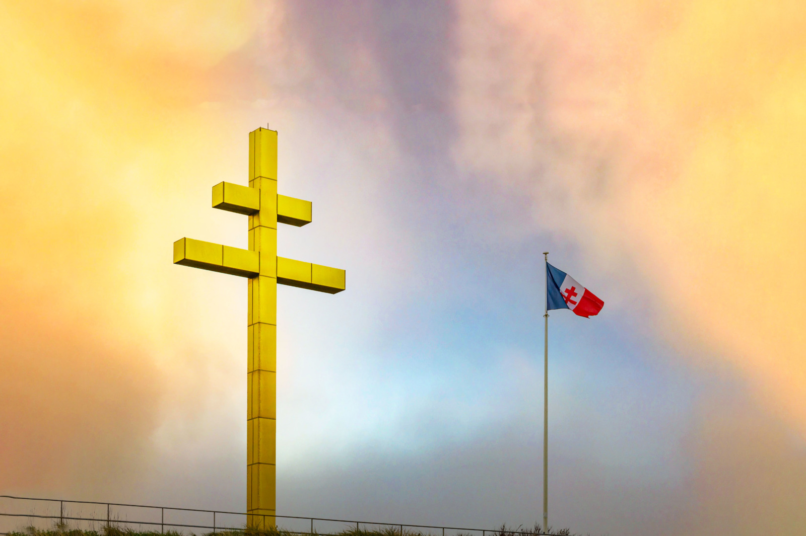 Cross of Lorraine by French Moments