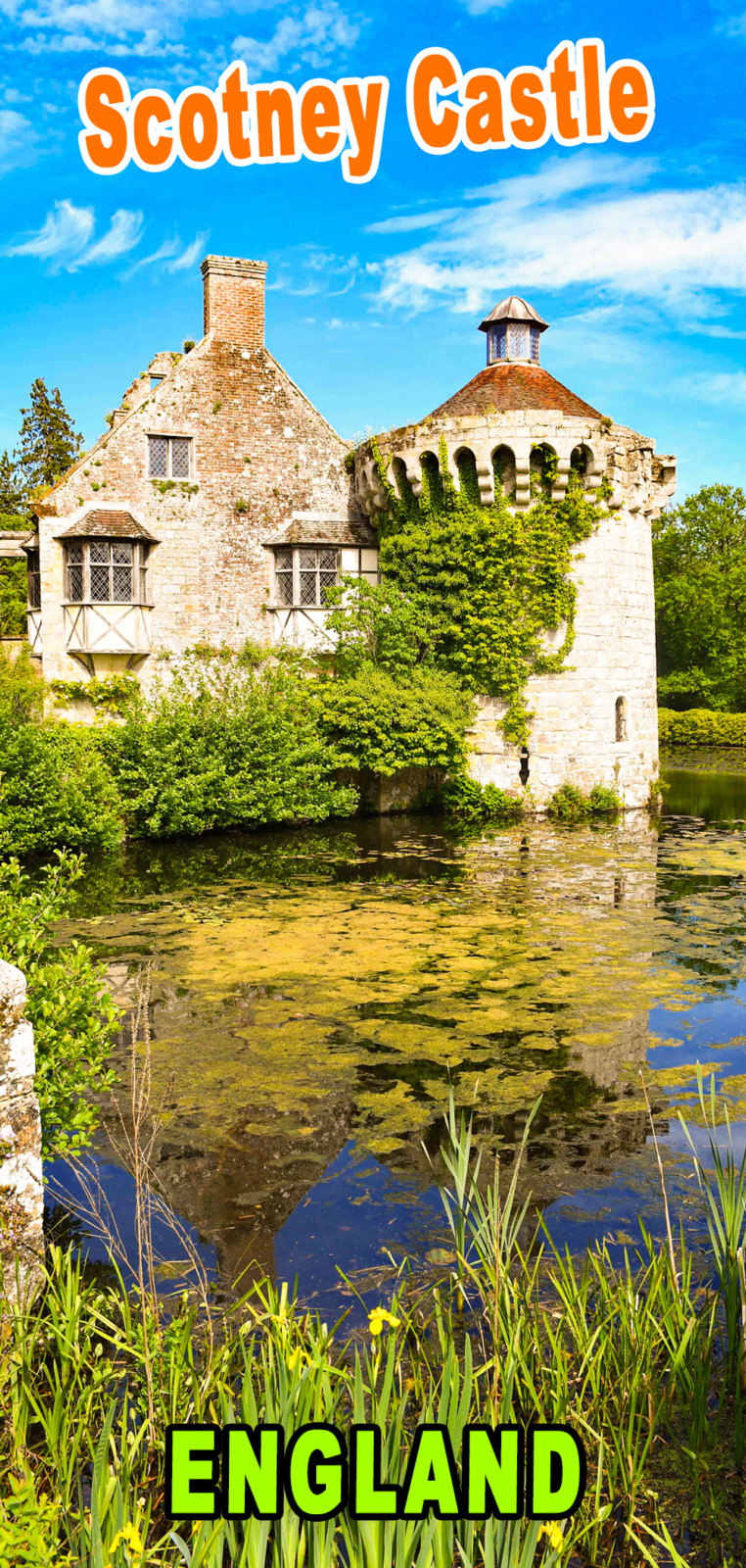 Scotney Castle for Pinterest © French Moments