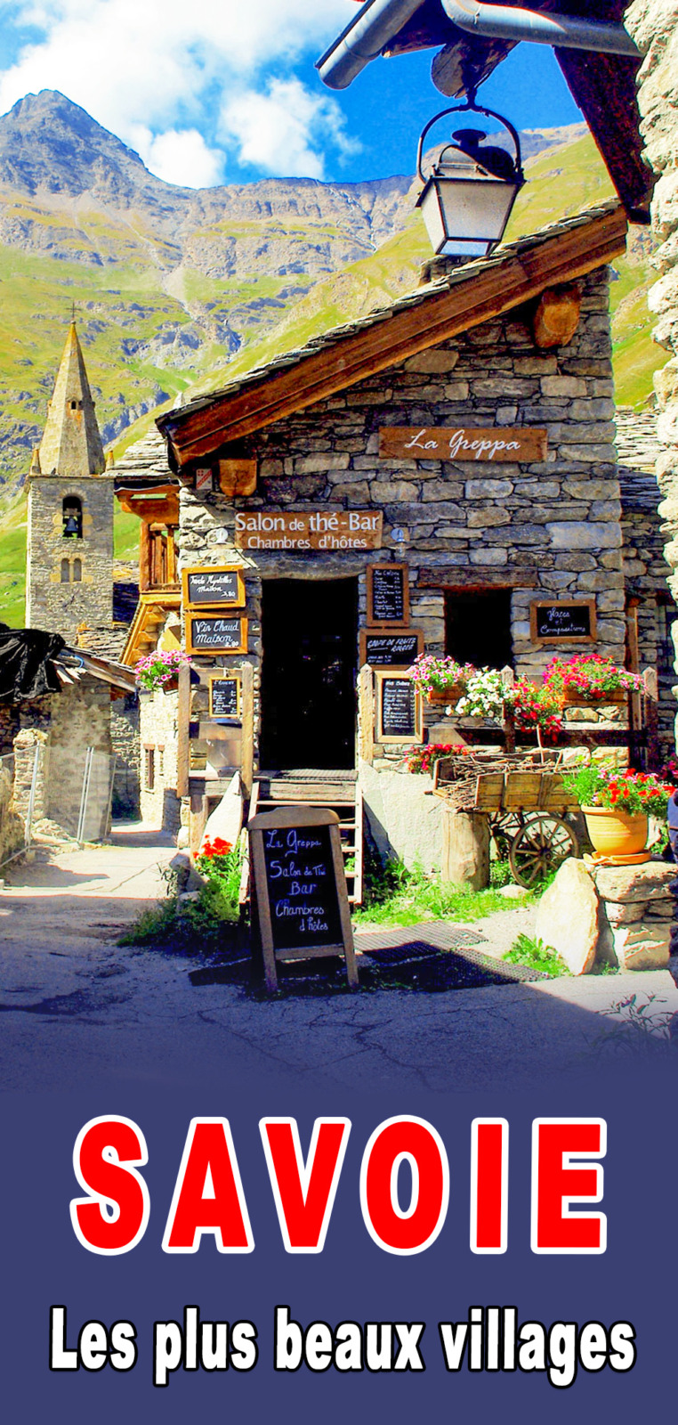 Villages of Savoie for Pinterest © French Moments