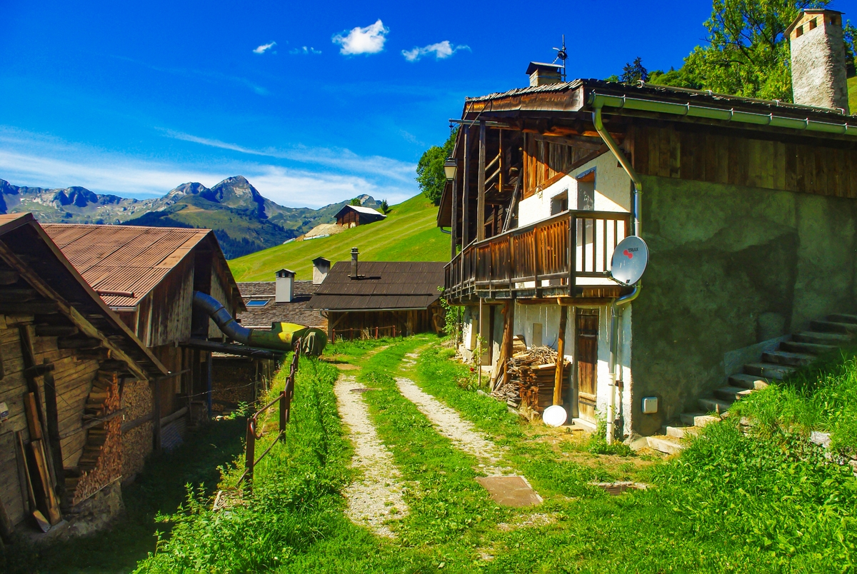 The villages of Savoie - Boudin © French Moments