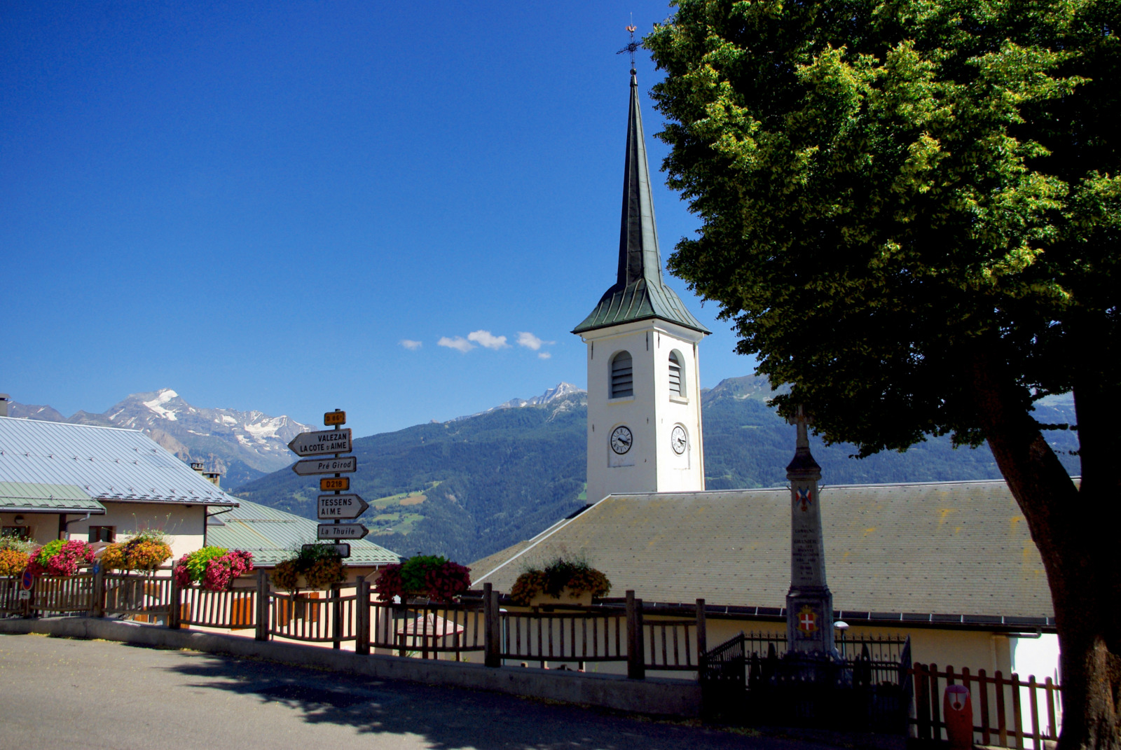 Church of Granier (Savoie) © French Moments