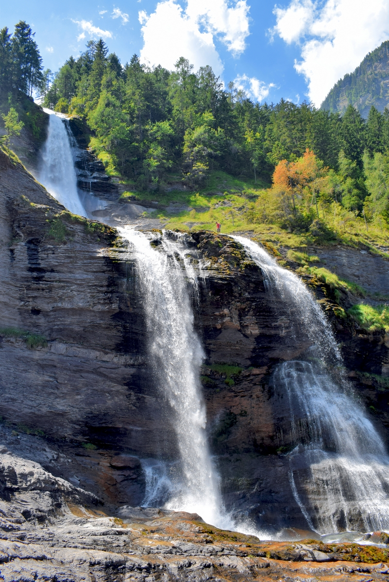 The Rouget waterfall in Sixt-Fer-à-Cheval © French Moments