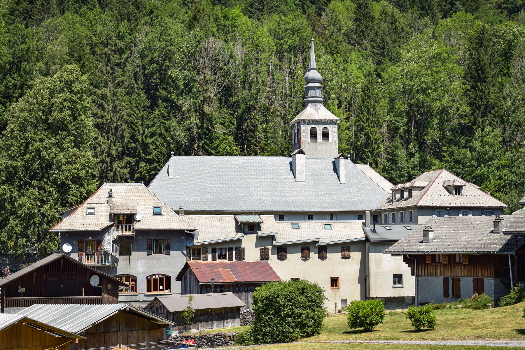 The chief town of Sixt-Fer-à-Cheval © French Moments