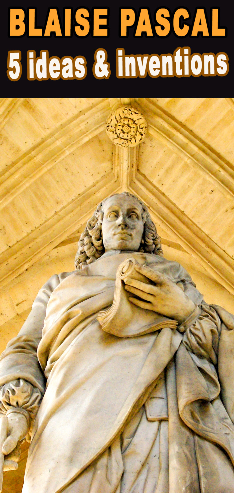 Blaise Pascal - Pinterest © French Moments